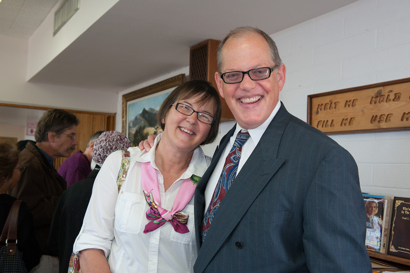 Pastor Randy and his wife, Evelyne