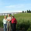 Nevia, Jakob, Herman near the Moodna Viaduct north of Schunemunk Mtn. (5/25/12)