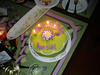 My Little B-Day Cake.Thanks Augie!