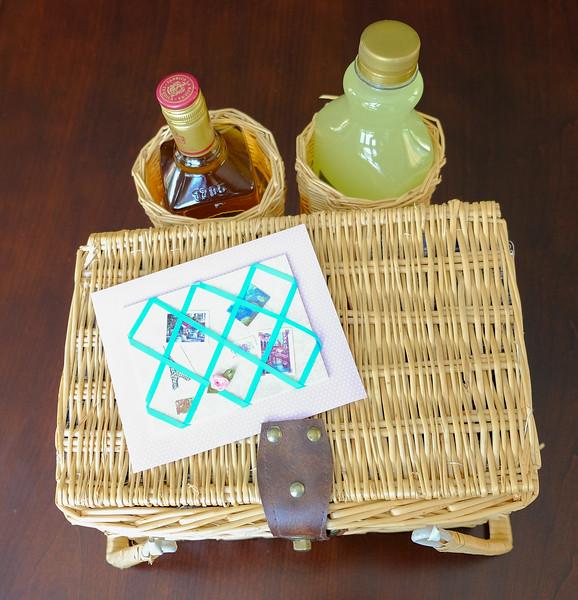 Margarita basket from my friend Joanne S.