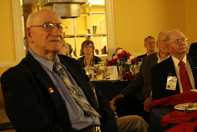 During the Closing Banquet Images of the Battle of the Bulge were shown. I looked around the room at our Veterans and in the low light you could see the tears and fears on their faces. The memory of the Pain and hardships they endured, thank you and may you find Peace and Light.