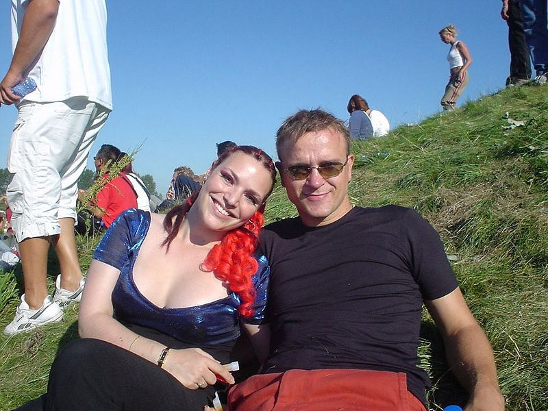 Sjoerd and a friend