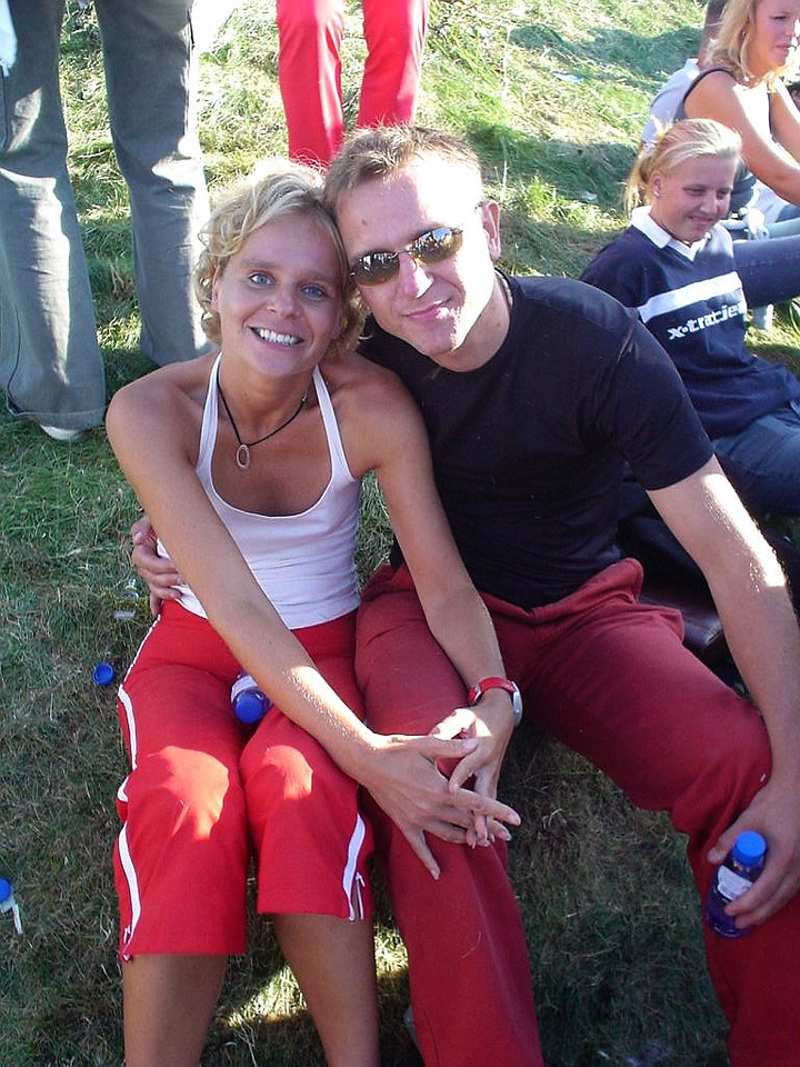 Astrid and Sjoerd, also happy and relaxt