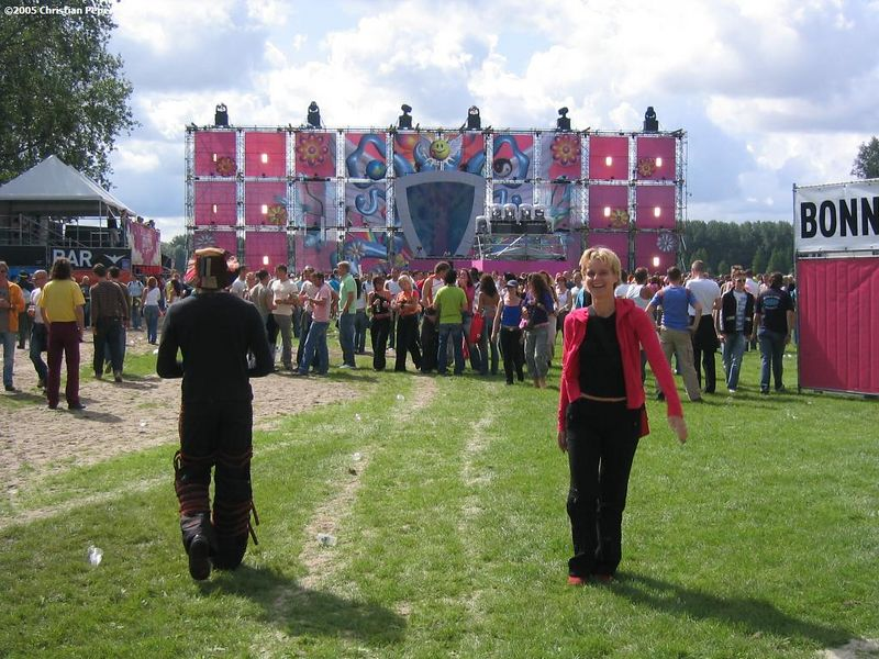 Astrid at the main stage