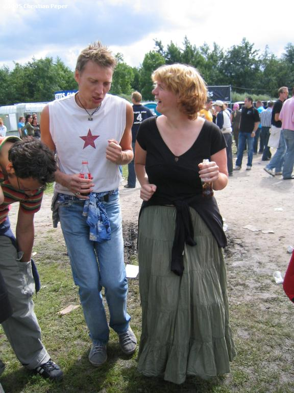 Arjen and Sylvia dancing