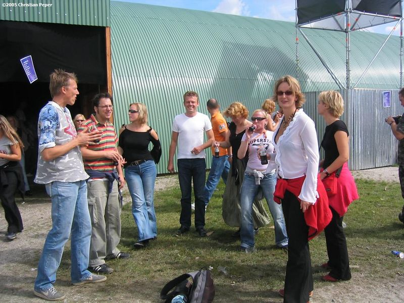 Arjen, Jan-Willem, Natasha, Maurits, Sylvia, Marijse, Astrid, Petra. Martin and Sjoerd seem missing