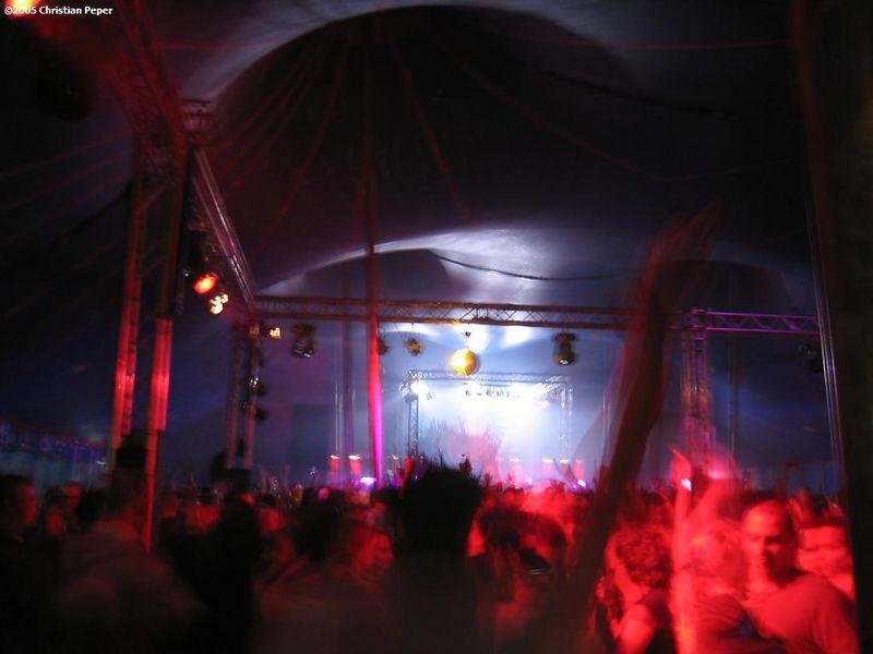 Blackhole tent