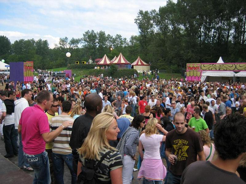 Main stage around 1pm