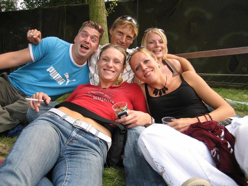 Ko, Arjen, Pauline, Marisca and Isabel