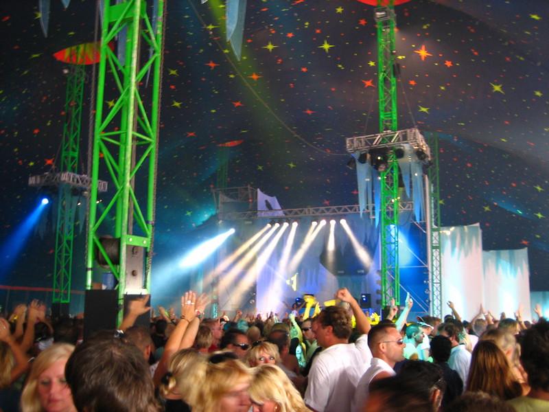 Armada stage/tent