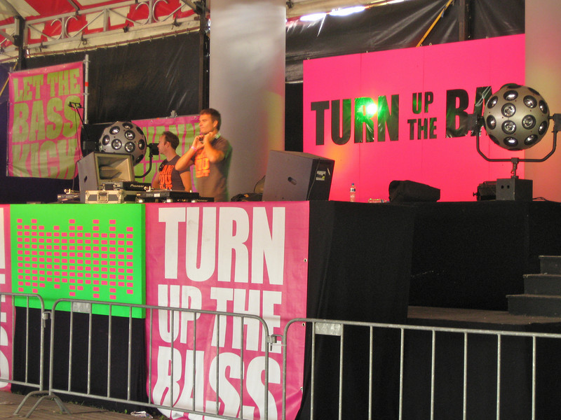 Marcello at Turn Up the Bass stage