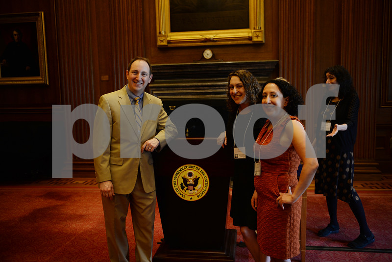 5/3/16-The Supreme Court- Washington DC   NA'AMAT USA presents U.S. Supreme Court Justice Ruth Bader Ginsberg with the Golda Meir Award in the East Conference Room of the Supreme Court.    photos by: Christy Bowe - ImageCatcher News