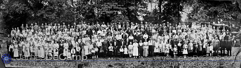 Panoramas circa 1912 photographed at the Plain Township Historical Center June 12, 2012.  (© James D. DeCamp | http://www.JamesDeCamp.com | 614-367-6366)