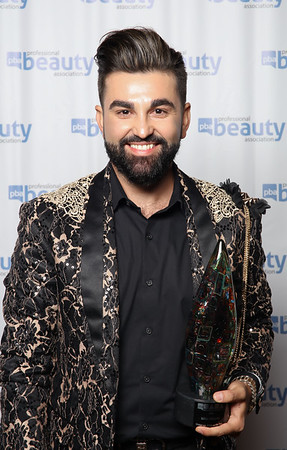 2016 NAHA Makeup Artist of the Year Winner Isidro Valencia