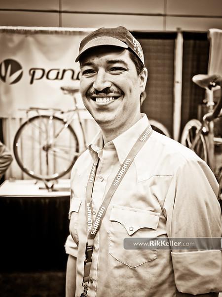 NAHBS Day #1<br /> Jacob Castillo of Panda Bicycles