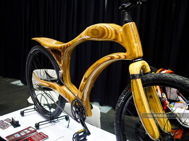 NAHBS Day #1<br /> Bekes Wooden Bicycles