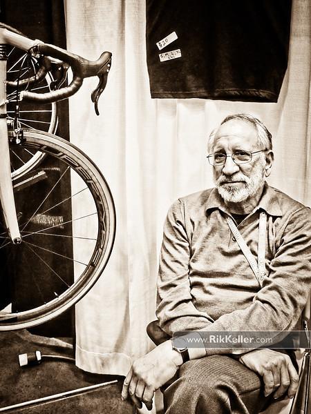 NAHBS Day #1<br /> Bruce Gordon of Bruce Gordon Cycles