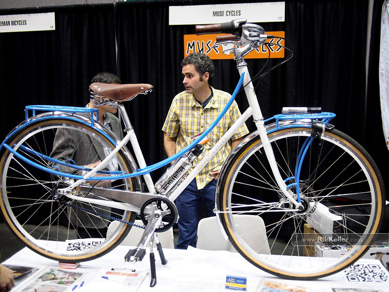 NAHBS Day #1<br /> Muse Cycles