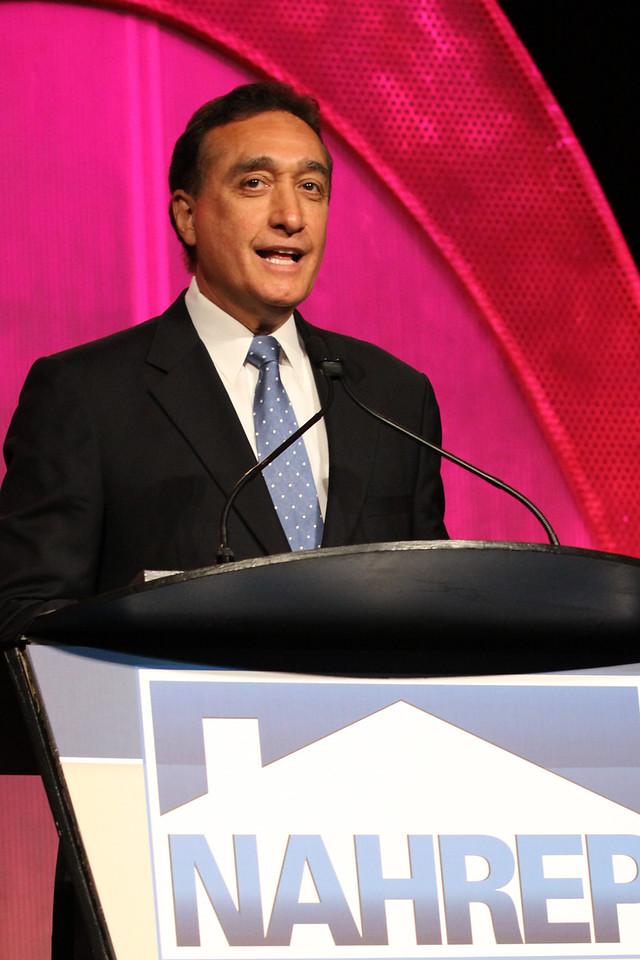 Former Housing Secretary Henry Cisneros.