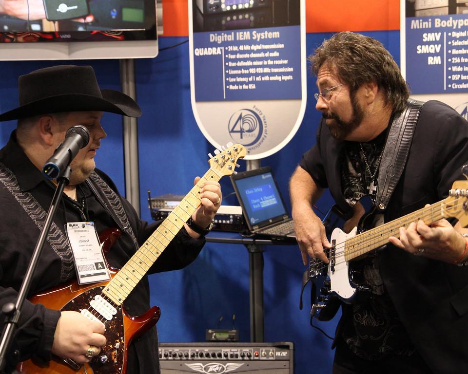 Johnny Hiland & Ron Lutrick