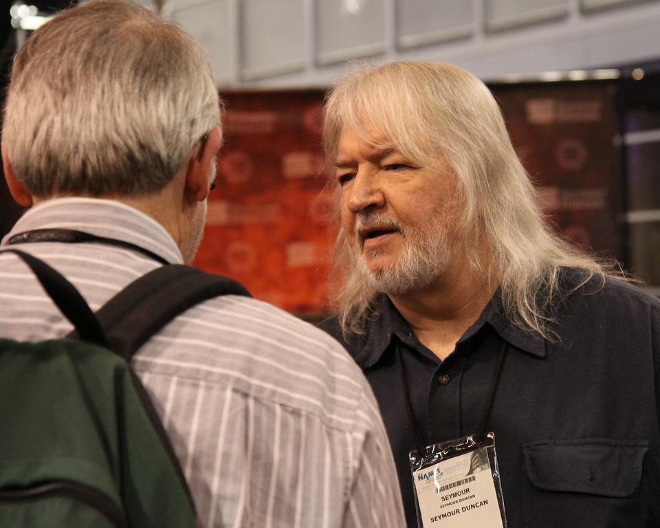 Seymour Duncan with Mark.