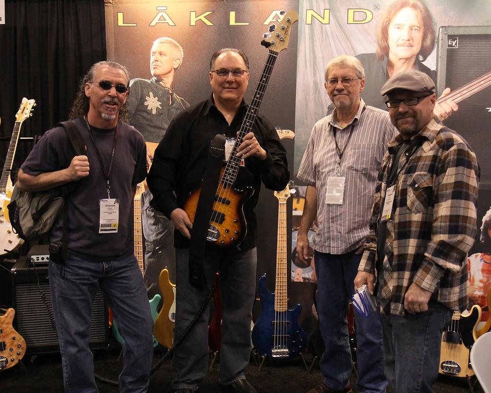 The gang at Lakland.