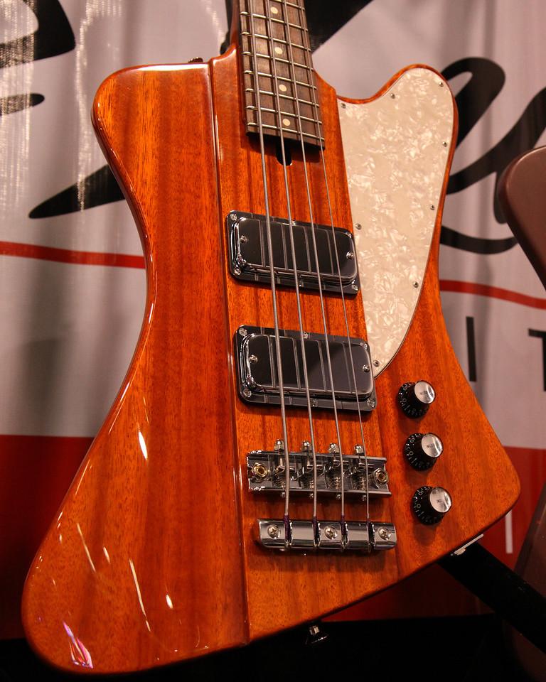 Mike Lull T-bird style bass.
