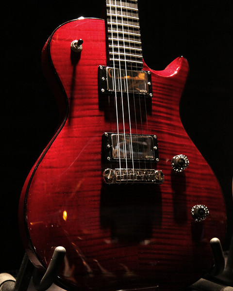 Guitar at PRS booth.