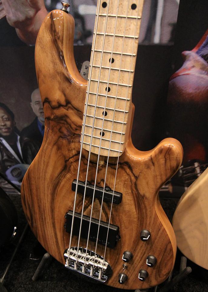 Bass at Lakland booth.