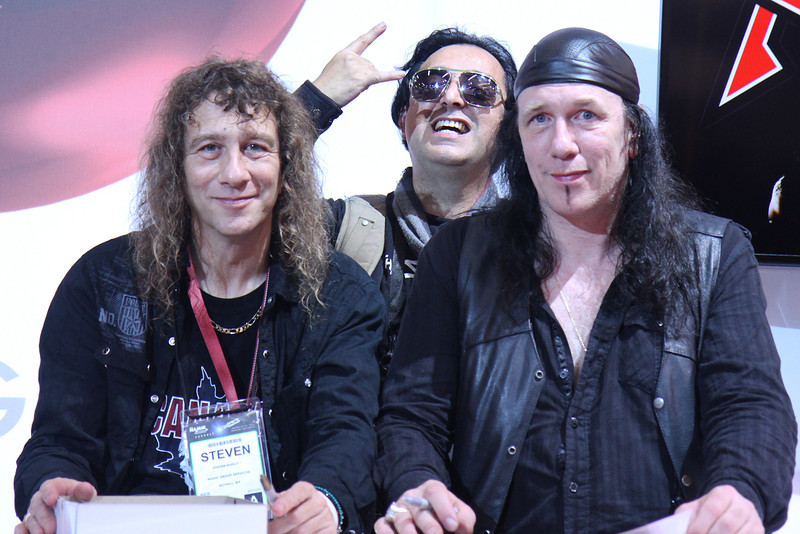 "Metal band ""Anvil""."