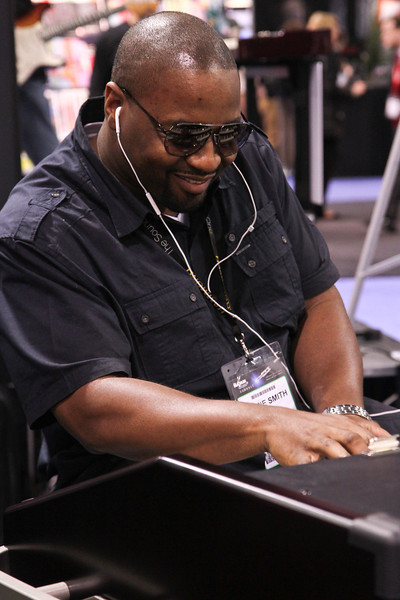 "In the Hammond booth, Jimmie Smith.  No, not ""him"".  Played great, though...  :-)"