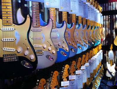 Fender Guitars booth @ NAMM 2011