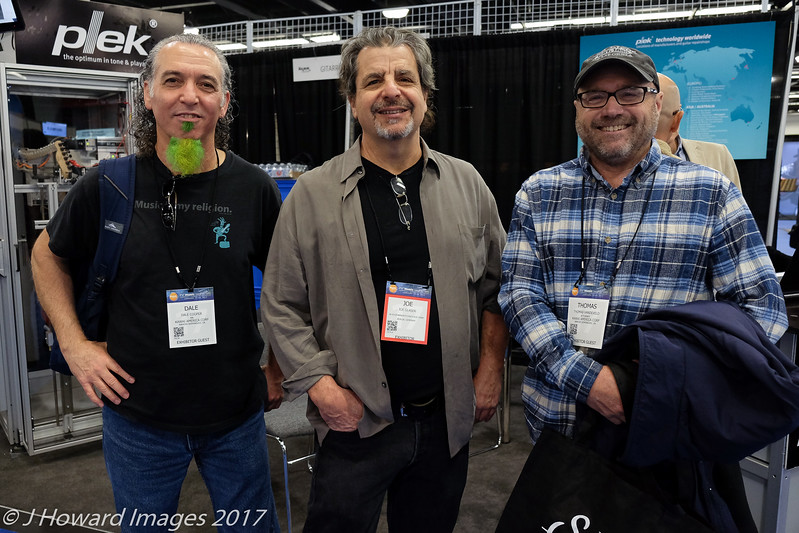 Dale, Joe Glaser, and Tom