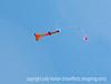 Parachute deployment closeup