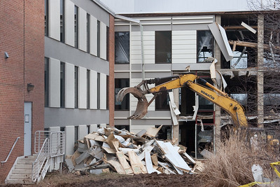 Destruction of Building 2, NASA/GSFC, Jan 2012