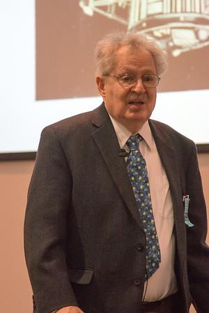 Steve Maran (GSFC Emeritus) -- NASA/GSFC Career Celebration for John Mather (40 years), Floyd Stecker (50 years), and Peter Serlemitsos (55 years), Greenbelt, Nov 17, 2016.