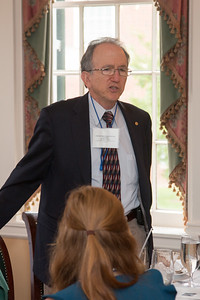 Mike Hauser, VP Mather Foundartion, Deputy Director STSci -- 2016 Dr. John Mather Nobel Scholars Program Award  luncheon, held at the Hopkins Club, Johns Hopkins University, Baltimore, MD, July 26, 2016.