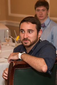 Garrett West (2012 Scholar) -- 2016 Dr. John Mather Nobel Scholars Program Award  luncheon, held at the Hopkins Club, Johns Hopkins University, Baltimore, MD, July 26, 2016.