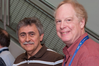 Demos Kazanas and Chris Shrader -- March 2011 new staff welcome coffee, Astrophysics Science Division, NASA/ Goddard Space Flight Center