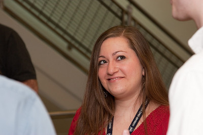 Judy Racusin -- March 2011 new staff welcome coffee, Astrophysics Science Division, NASA/ Goddard Space Flight Center