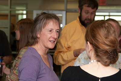 Alice Harding -- March 2011 new staff welcome coffee, Astrophysics Science Division, NASA/ Goddard Space Flight Center