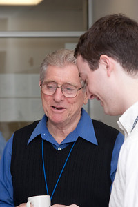 Bruce Woodgate and James Bubeck -- March 2011 new staff welcome coffee, Astrophysics Science Division, NASA/ Goddard Space Flight Center
