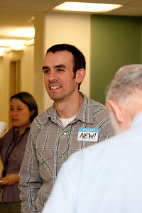 Mike Dion -- March 2011 new staff welcome coffee, Astrophysics Science Division, NASA/ Goddard Space Flight Center