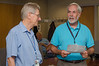 Bill Oegerle, Director of Astrophysics Science Division, with Bruce --  Bruce Woodgate retirement party, NASA/GSFC, June 2013