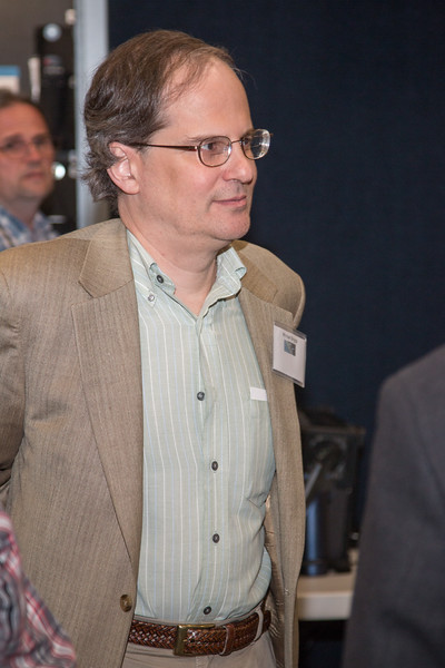 Michael Briggs (UAH) -- CGRO (Compton Gamma Ray Observatory) 25th Anniversary of launch party at NASA/Goddard Space Flight Center, Greenbelt, MD, June 2016