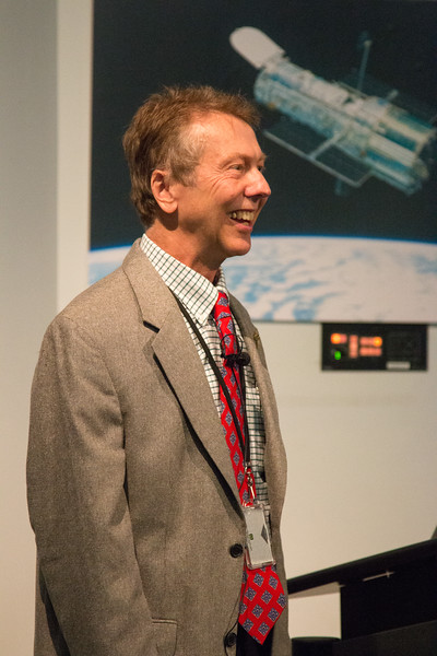 Neil Gehrels, Project Scientist -- CGRO (Compton Gamma Ray Observatory) 25th Anniversary of launch party at NASA/Goddard Space Flight Center, Greenbelt, MD, June 2016