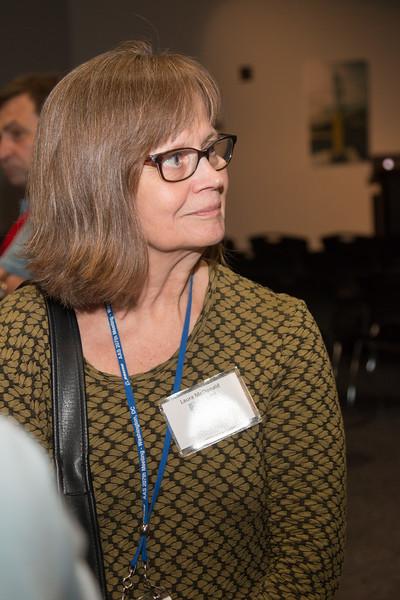 Laura McDonald (EGRET/GSFC) -- CGRO (Compton Gamma Ray Observatory) 25th Anniversary of launch party at NASA/Goddard Space Flight Center, Greenbelt, MD, June 2016