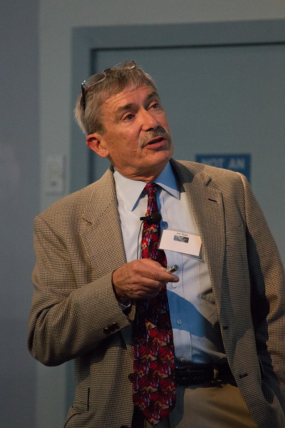 Jim Ryan (UNH) speaks about the COMPTEL Legacy CGRO (Compton Gamma Ray Observatory) 25th Anniversary of launch party at NASA/Goddard Space Flight Center, Greenbelt, MD, June 2016