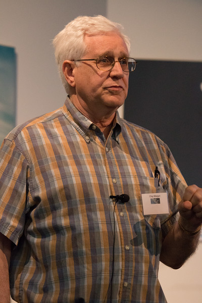 Chip Meegan (MSFC) speaks about the BATSE Legacy -- CGRO (Compton Gamma Ray Observatory) 25th Anniversary of launch party at NASA/Goddard Space Flight Center, Greenbelt, MD, June 2016