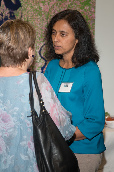 Reshmi Mukherjee (EGRET/GSFC, now Barnard/Columbia) -- CGRO (Compton Gamma Ray Observatory) 25th Anniversary of launch party at NASA/Goddard Space Flight Center, Greenbelt, MD, June 2016